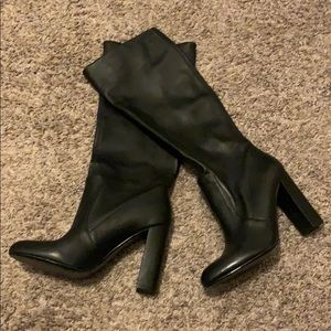Size 10 Brand New Black Knee High Boots
